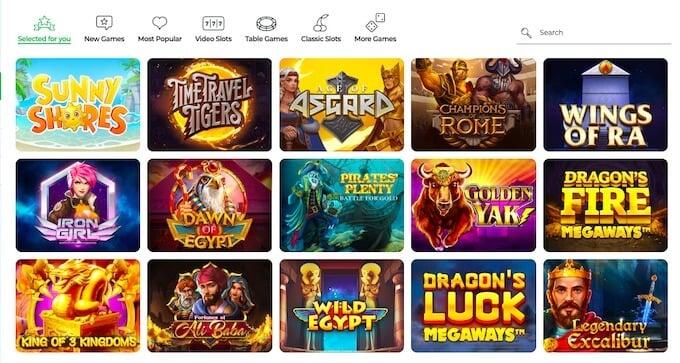 Lilibet Casino Games