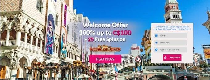 LuckyVegas Review casino