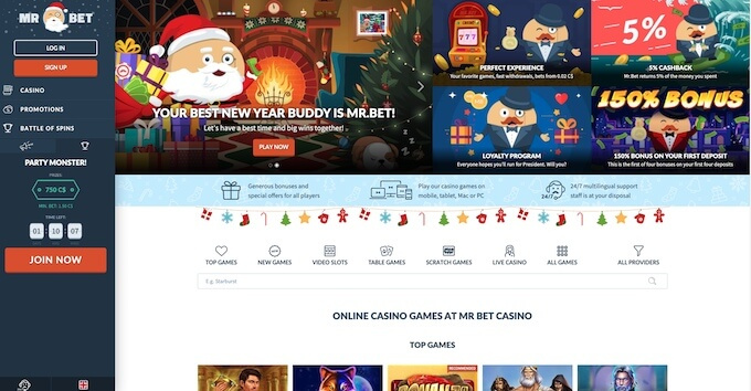Mr.Bet Casino Review Canadacasino