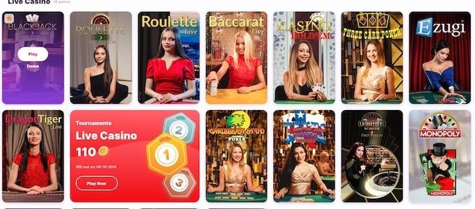 Nomini casino live casino