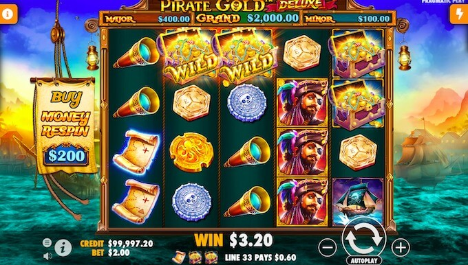 Pirates Gold Deluxe slot