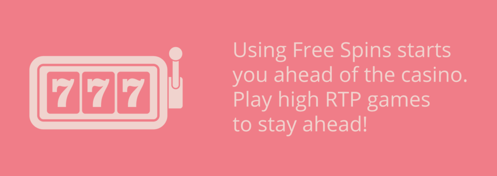 play high rtp games when you collect free spins