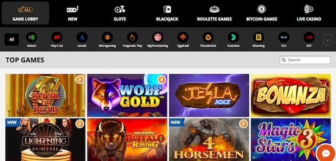 playamo casino games online