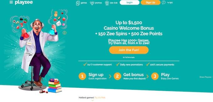 Playzee Casino Canada