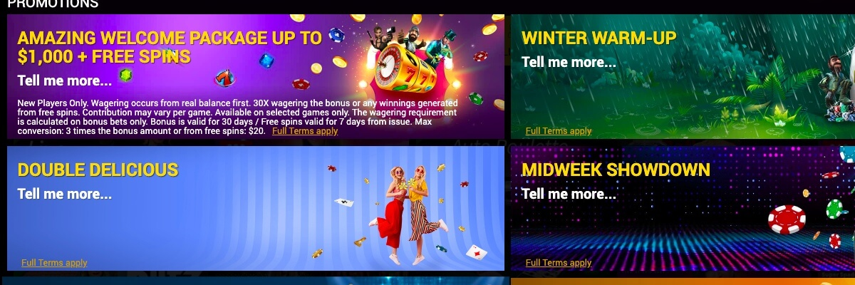Power Slots promotions