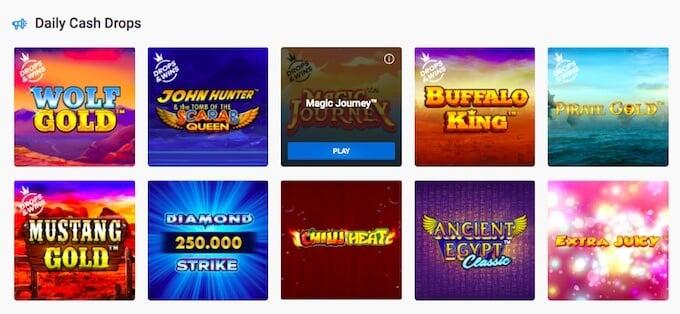 Unikrn slot games