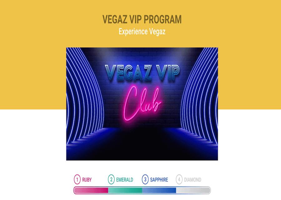 Vegaz Casino VIP Club
