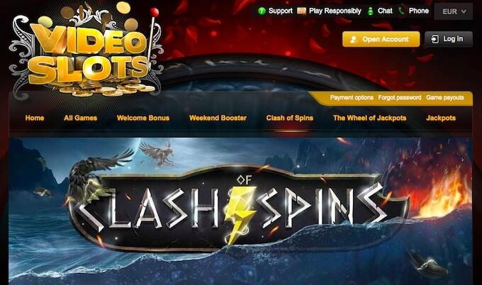 videoslots casino promotions