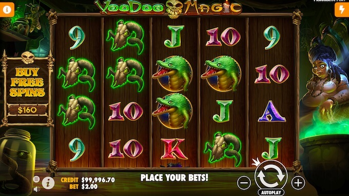 Voodoo Magic slot Canada