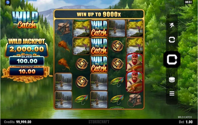 Wild Catch slot Microgaming