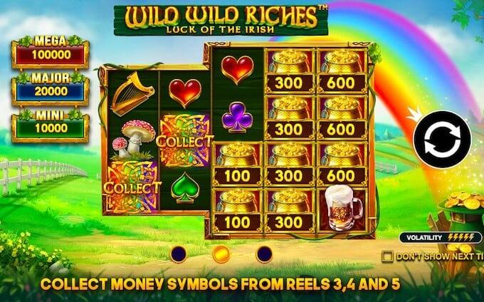 Wild Wild Riches Slot Reivew